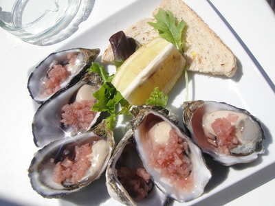 Oysters Oliver