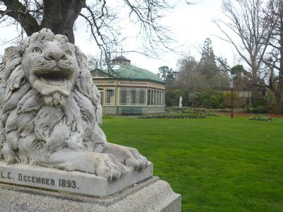 Lions at the Ballarat Botanical Gardens