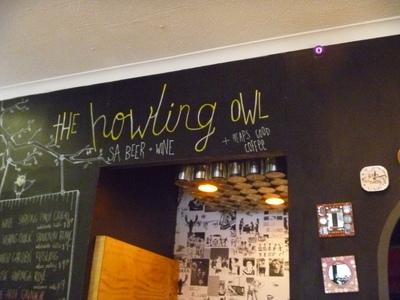 The Howling Owl Cafe Adelaide Frome St
