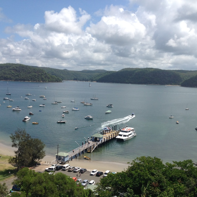 Palm Beach Ferry terminal Views of pittwater