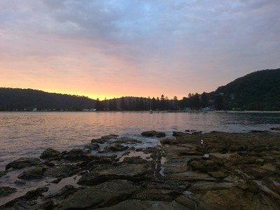 Sunset over Patonga