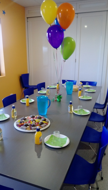 Rebound Arena Port Kennedy, Rebound Arena Birthday Party Room, Kid's Party Room