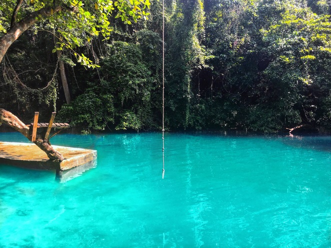 Riri Blue Hole, Riri River, Blue Hole, Jungle, Rope Swing