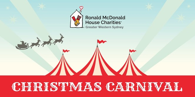 Ronald McDonald House Charity Greater Western Sydney christmas carnival