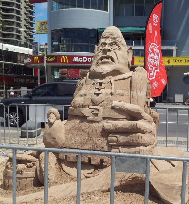 sand sculpting, sand safari 2014, sand castles, sand art
