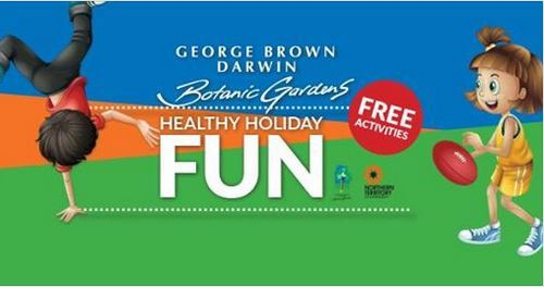 school holiday, October 2017, George Brown Darwin Botanic Garden, free, children activities