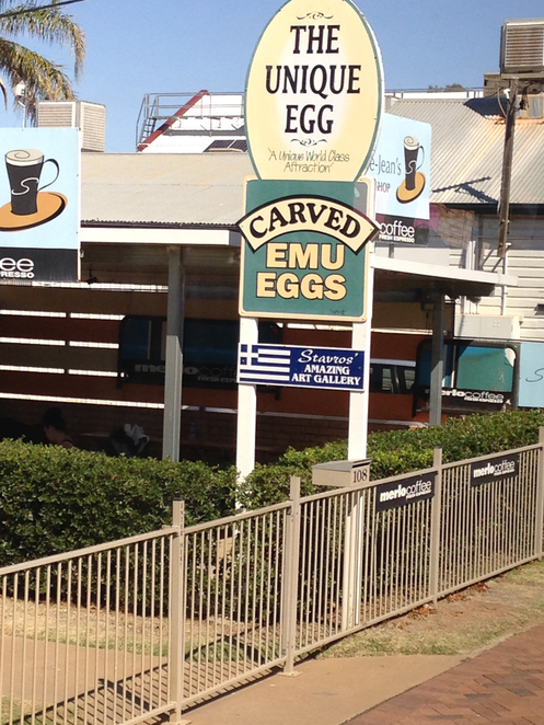 St George, Emu Eggs, Art, Craft, Museum, Shopping, Tourist Attractions, Tours