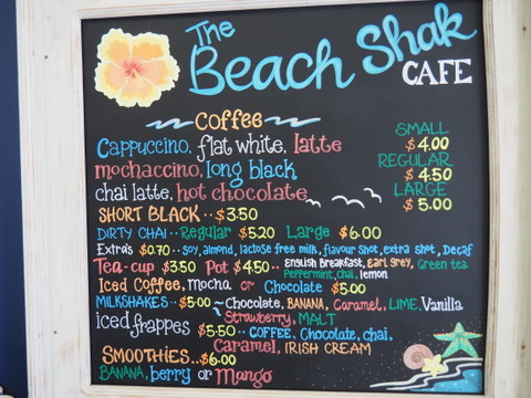 The Beach Shak, Cafe, Beachmere, Coffee and CAke