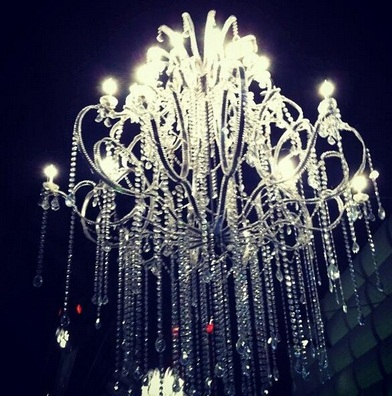 The Great Gatsby, chandelier,