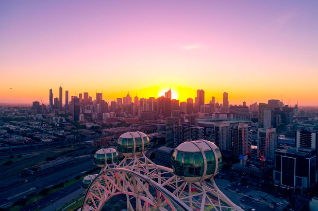 High Tea with Alice Pung at the Melbourne Star Observation Wheel