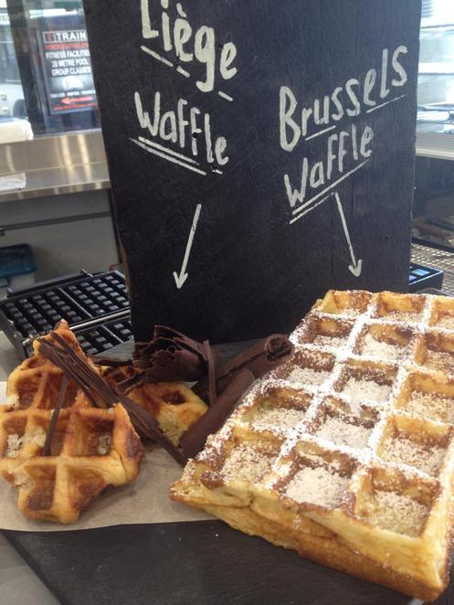 the waffle shack, best waffles in sydney, authentic belgian waffles