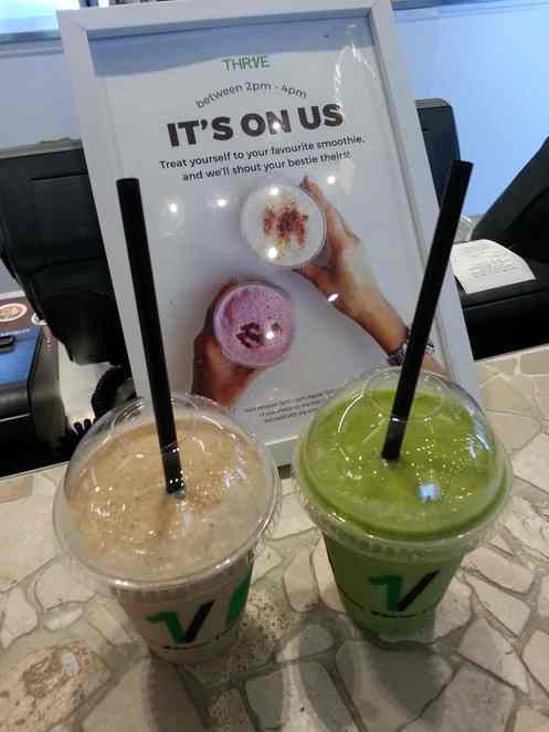 thrive, thrive health foods, thrive smoothies, best smoothies Melbourne CBD