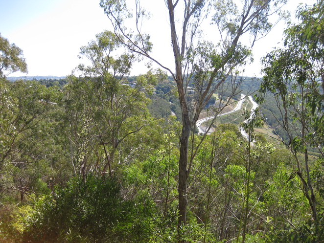 Toowoomba range Crossing Escarpment Highway