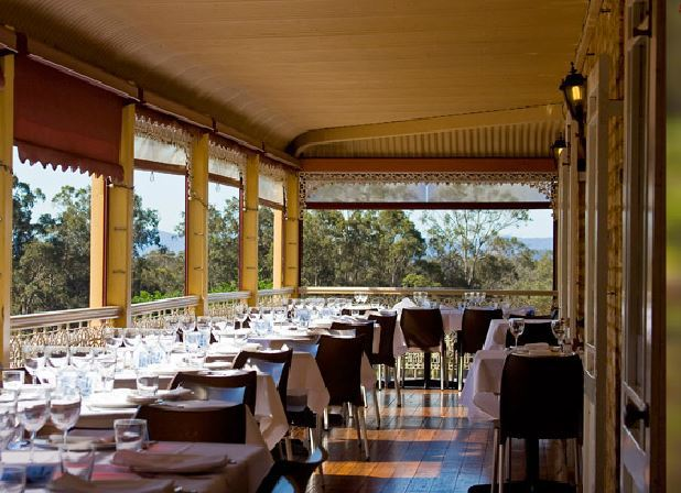 verandah restaurant hunter valley