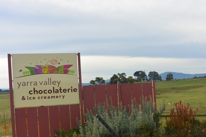Yarra valley chocolaterie and ice creamery, yarra valley