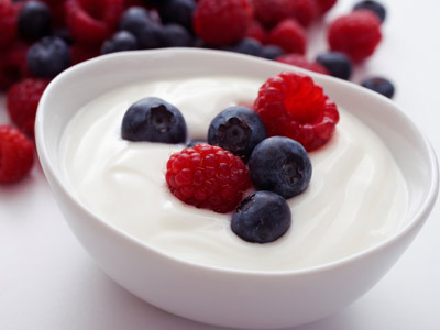 yogurt healthy food fruits recipe