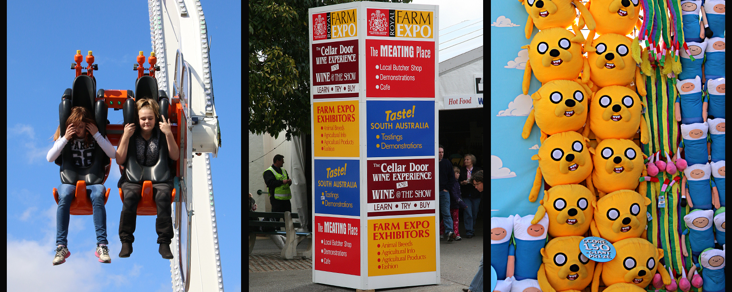 Exhibition Displays Adelaide : Royal adelaide show by jenny brice