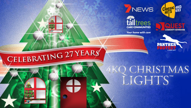 4kq christmas lights, christmas lights brisbane, brisbane christmas lights competition, christmas lights