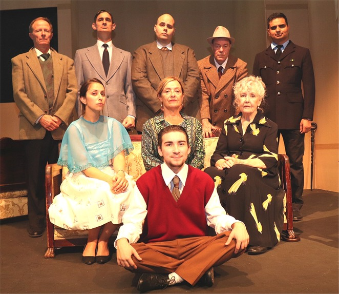 Agatha Christie, The Unexpected Guest, Old Mill Theatre, mystery, performing arts, murder, whodunit, stage, acting