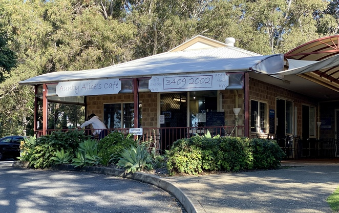 Aunty Alice's Cafe is just a short walk from the Russell Island Ferry Terminal