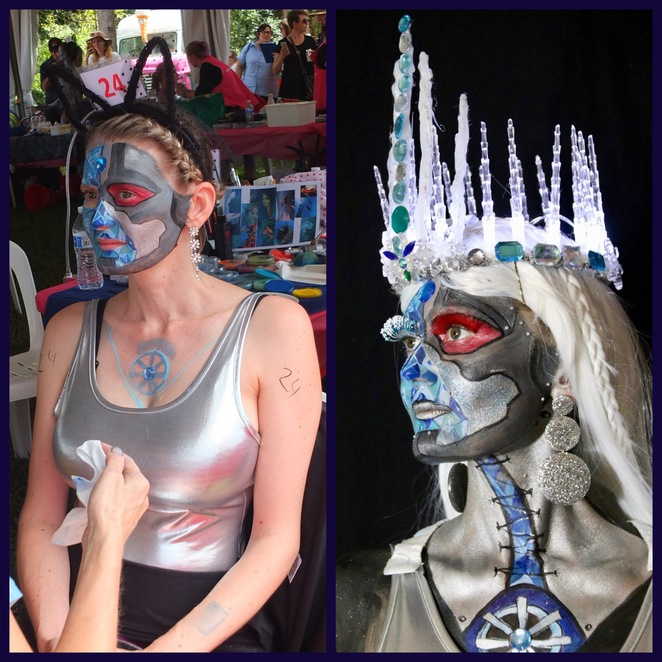 Australian Body Art Festival 2021, FREE spectator event, not-to-be-missed premier body art event, Cooroy, historical, futuristic, magical, flamboyant, Time Travel, full body painting, temporary art, not tattooing, speed UV painting, face painting, surfboard art, airbrush, special effects, wearable art, Noosa Outback, spectator registration essential, no ticket, no entry, weekend escape, extravaganza, heart of Noosa, captivating works of art