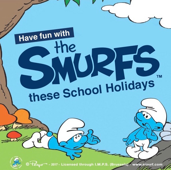 Belmont Forum, The Smurfs movie, School holiday activities Perth, Easter School holidays, the Smurfs-The Lost Village, Reading Cinemas Belmont