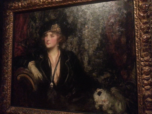Sir James Jebusa Shannon, Black and Silver (1910)