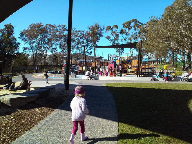 boundless playground, playgrounds, canberra, parks, best, national carillon, picnic spots, BBQ's,
