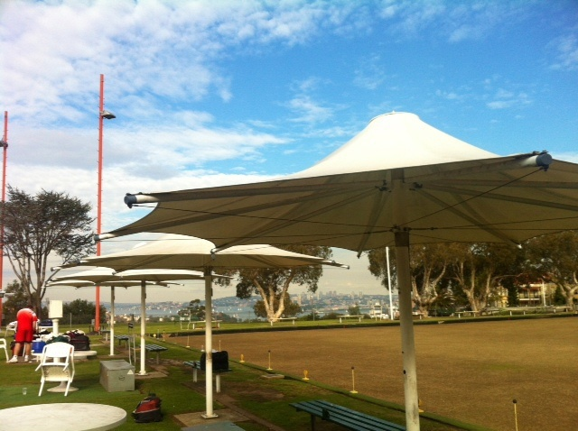 Bowling, play, playground, oval, sports, oval, functions, friends, family, fun, food, drink, grass, plants, trees, palm trees