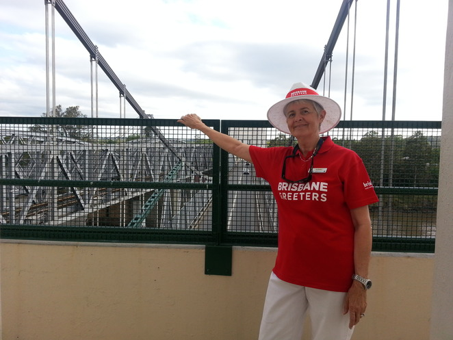 Brisbane Open House, Brisbane Greeters, Walter Taylor Bridge, Indooroopilly