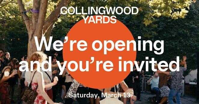 Collingwood yards open day, community event, fun things to do, studios open day, art galleries, ceramics workshop, record labels, creativity at work, fun things to do, community event, live music, all day art, design market, talks and workshops, melbourne's newest creative comunity, creative space, artists, arts