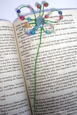 crafty bits butterfly bead bookmark