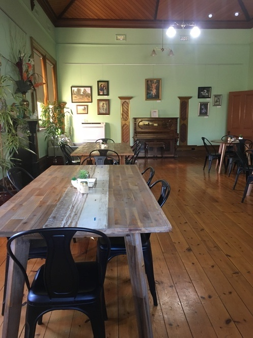 Dining hall, Dabbling Duck Cafe