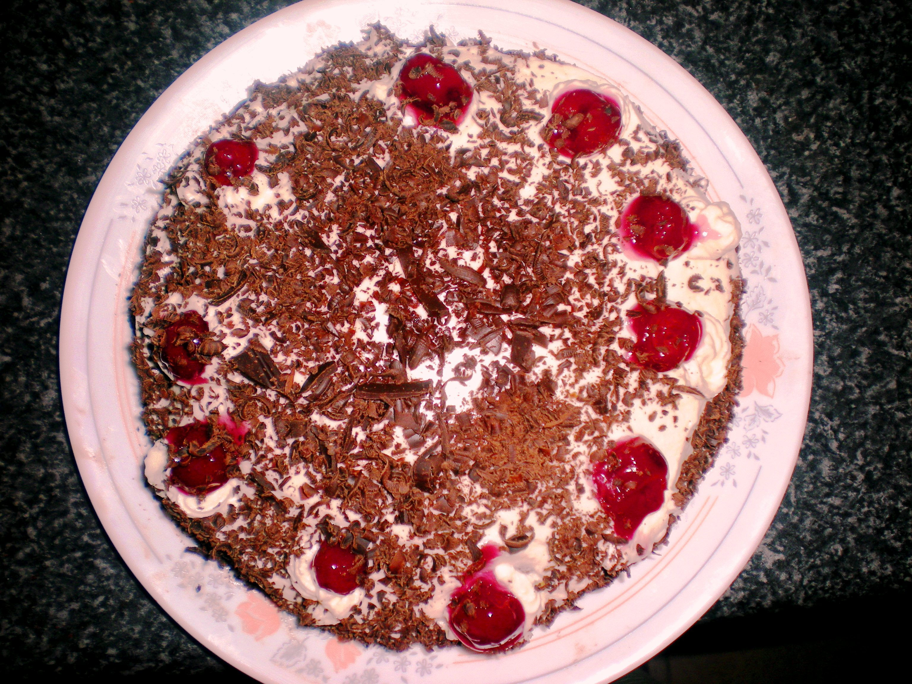 Easy Black Forest Cake Dianasdesserts
