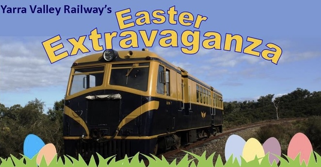 Easter, yarra valley, railway, playground, park, picnic, train rides, family, day trip