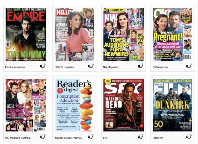 Free Magazines, borrow magazines from library, Sydney City Library, download magazines