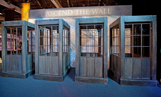 Game of Thrones Exhibition - Ascend the Wall simulator