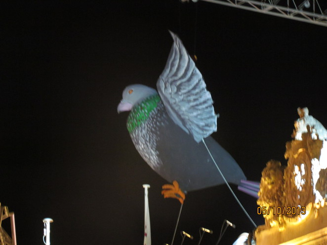 Giant Pigeon over St George's Square Valletta