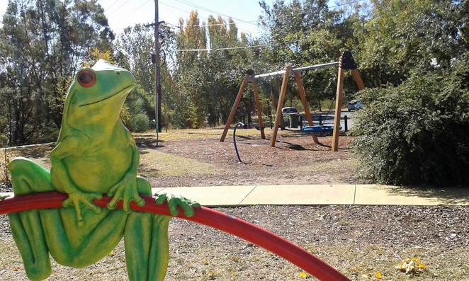 ray Morton park, queanbeyan, best playgrounds, parks, BBQ areas, sister parks,