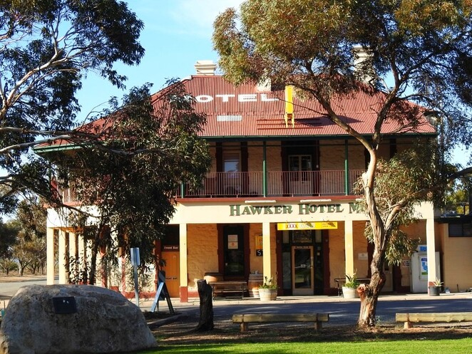 Hawker, Flinders Ranges, South Australia, Things to Do, railway, hawker hotel