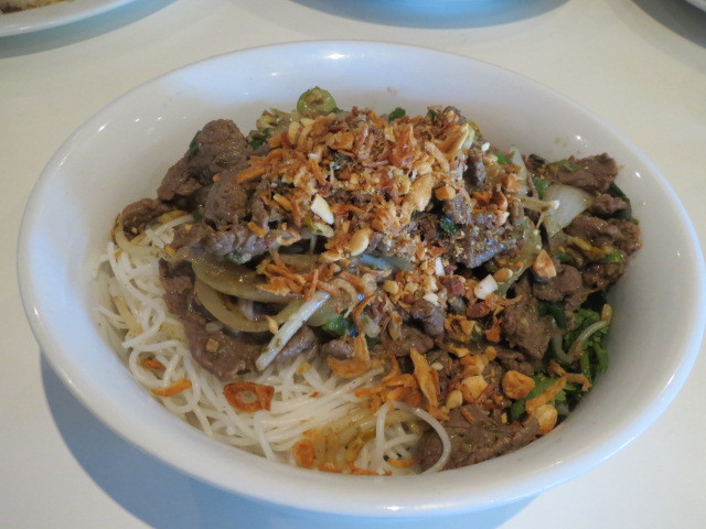 Huynh's Kitchen, Beef Vermicelli Noodle, Adelaide