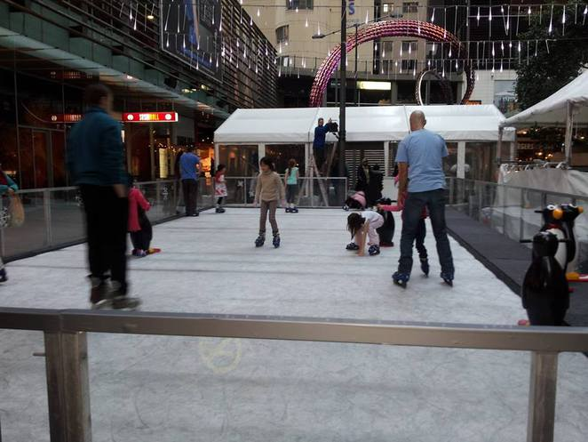 ice rink, winter, fun with kids, darling harbour, winter wonderland, cool yule, free things to do
