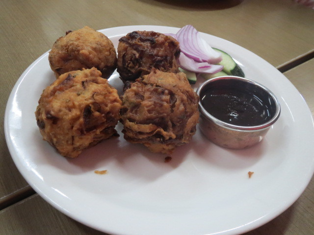 Indian Temptations, Onion Bhaji, Adelaide