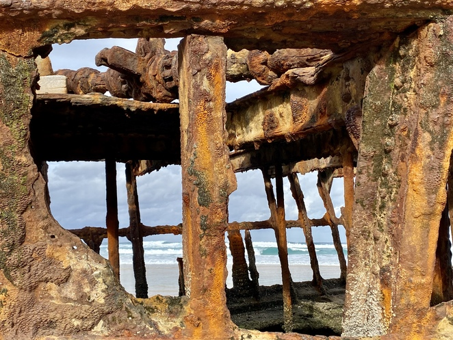 There is unrestricted access to the Maheno Wreck, with visitors asked not to climb on her