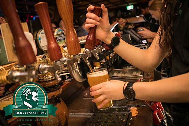 king o malleys, irish pub, pubs, canberra, city walk, st patricks day, irish, beers, night life, live bands