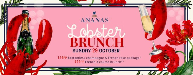 lobster brunch, bottomless brunches, sunday brunch in sydney, best sydney brunches