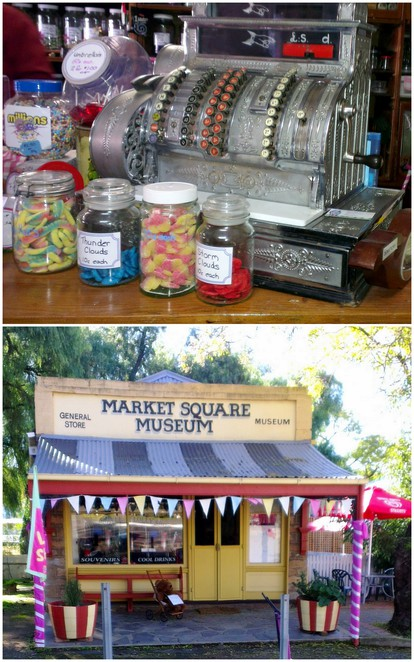 Market Square Museum, Market Square Lolly Shop, Burra Heritage Passport,