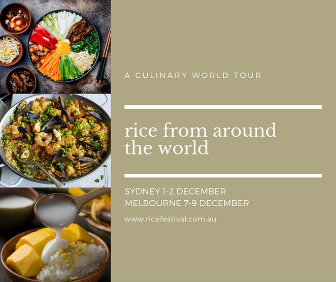 melbourne world rice festival 2018, community event, fun things to do, rice from around the world, birrarung marr, street food, hwkr, food pop-up, hwkr marquee, asian food fix, asian cuisine, cultural performances, cooking demonstrations, celebrity chefs, entertainment, rice desserts, rice the amazing grain, street food, food stalls