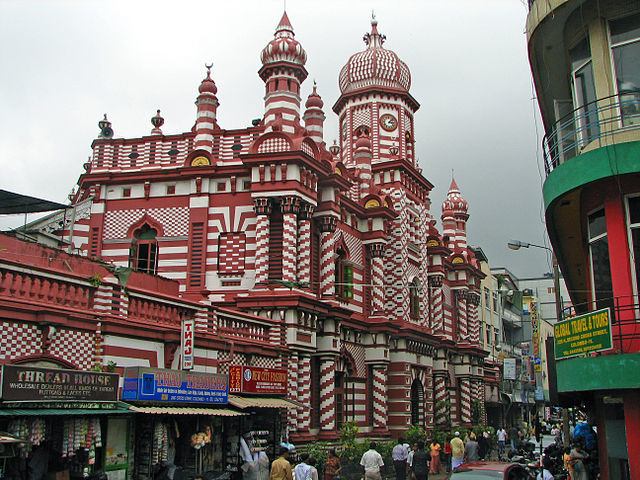 mosques in colombo