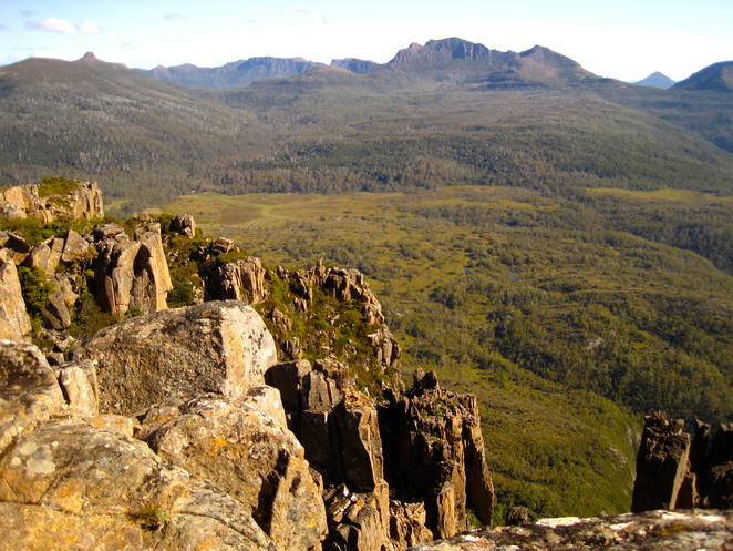 Mt Oakleigh, Cradle Mountain, Overland Track, walks, tasmania